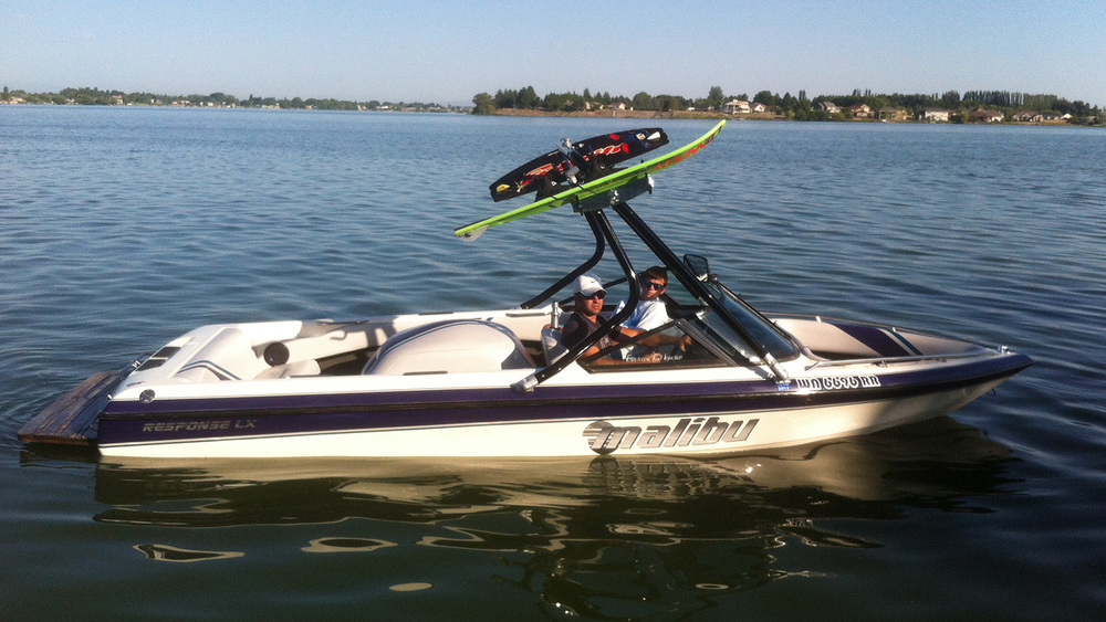 Wakeboard Tower on a 1997 Malibu response