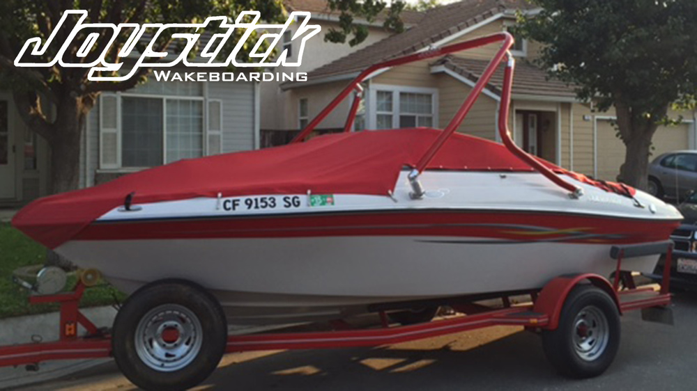 wakeboard tower on a 2006 four winns 190