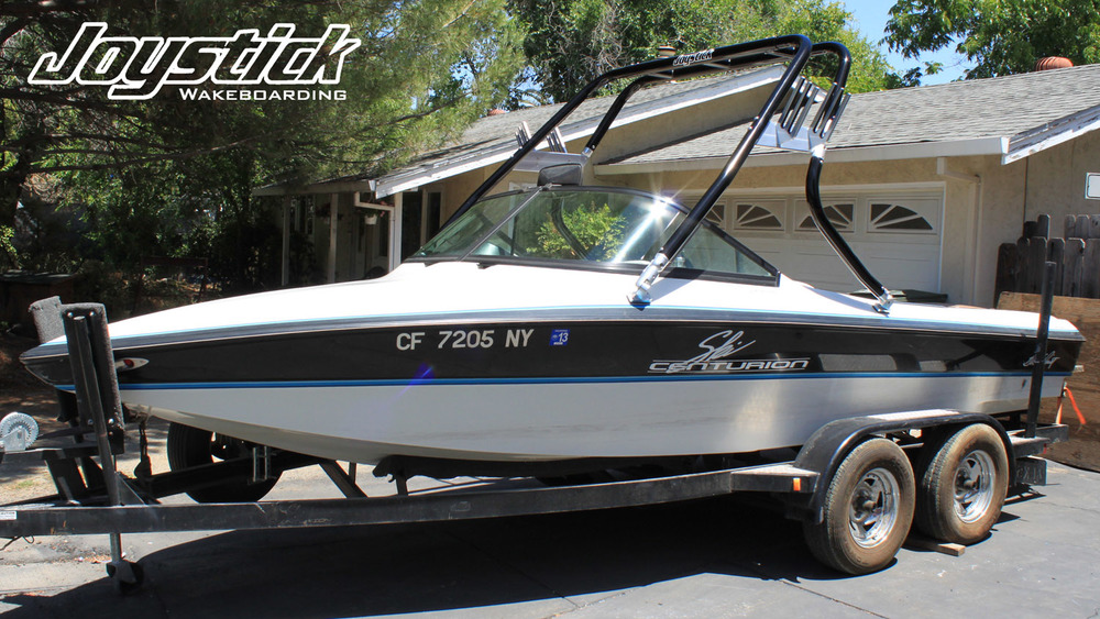 wakeboard tower on a 1995 ski centurion lapoint