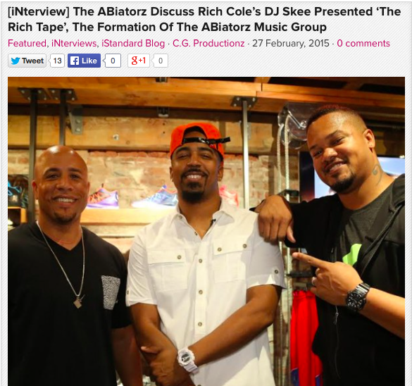 [iNterview] The ABiatorz Discuss Rich Cole's DJ Skee Presented 'The Rich Tape', The Formation Of The ABiatorz Music Group