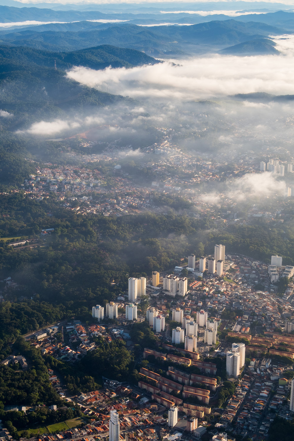 Sao Paulo from the sky
