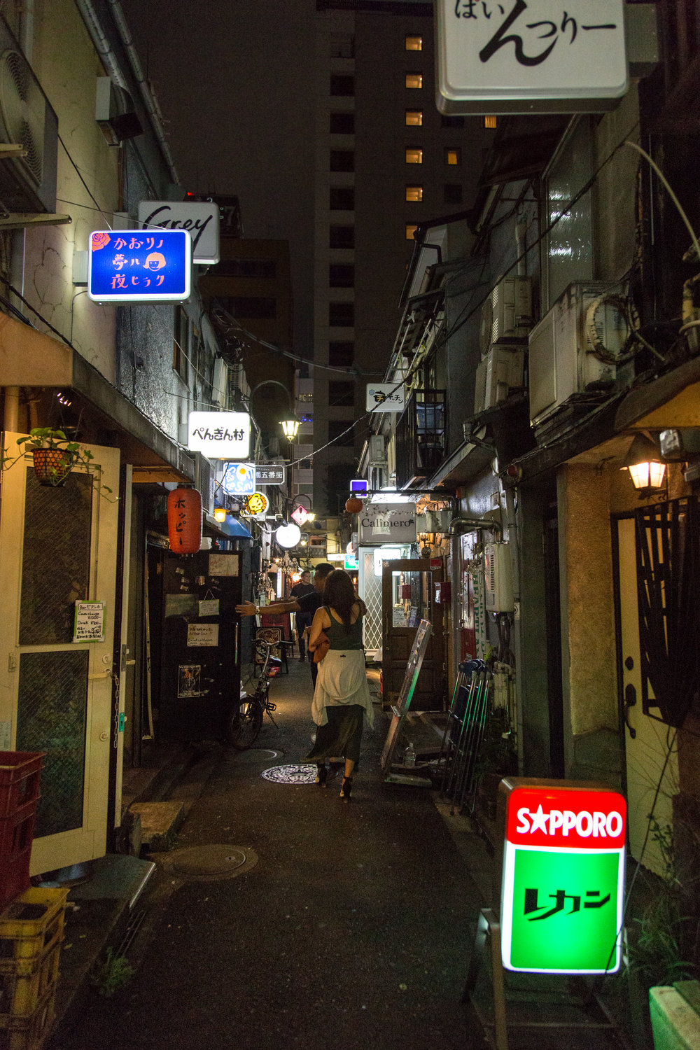 Endless alleys of microbars in the maze that is Golden Gai