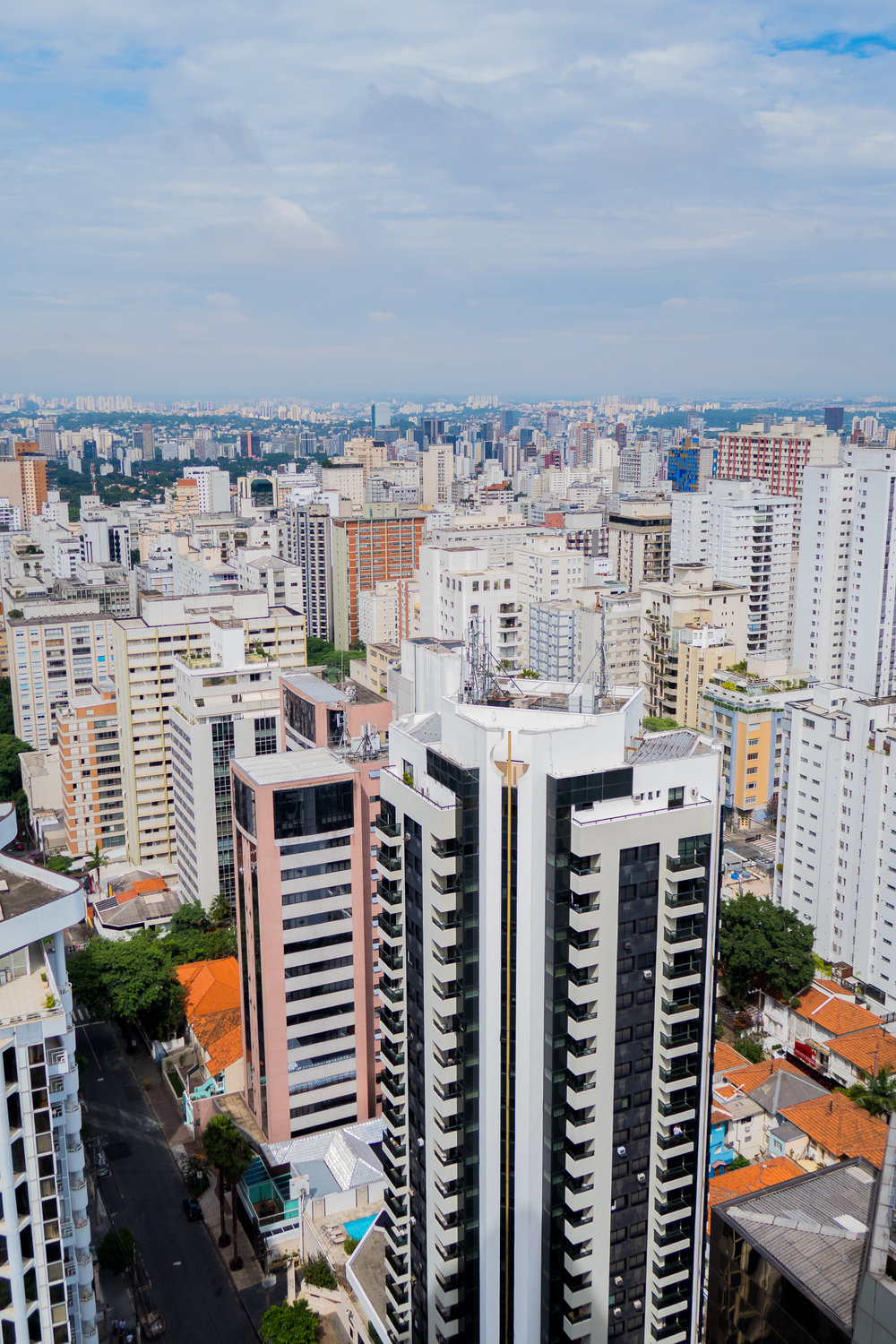 Sao Paulo from the Renaissance Hotel