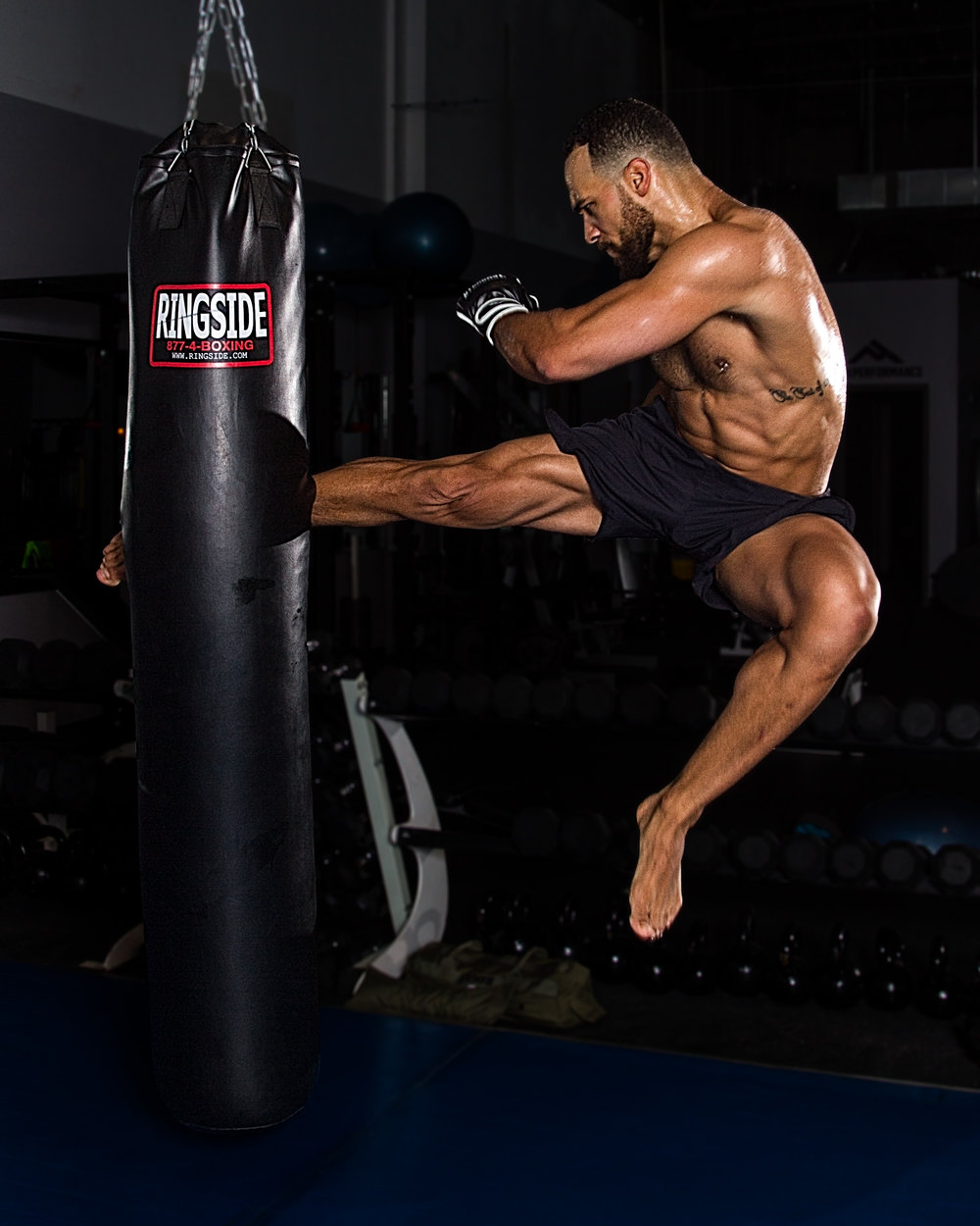 Flying Kick | Andrew Warner Photography | sports | fitness | mma.jpg
