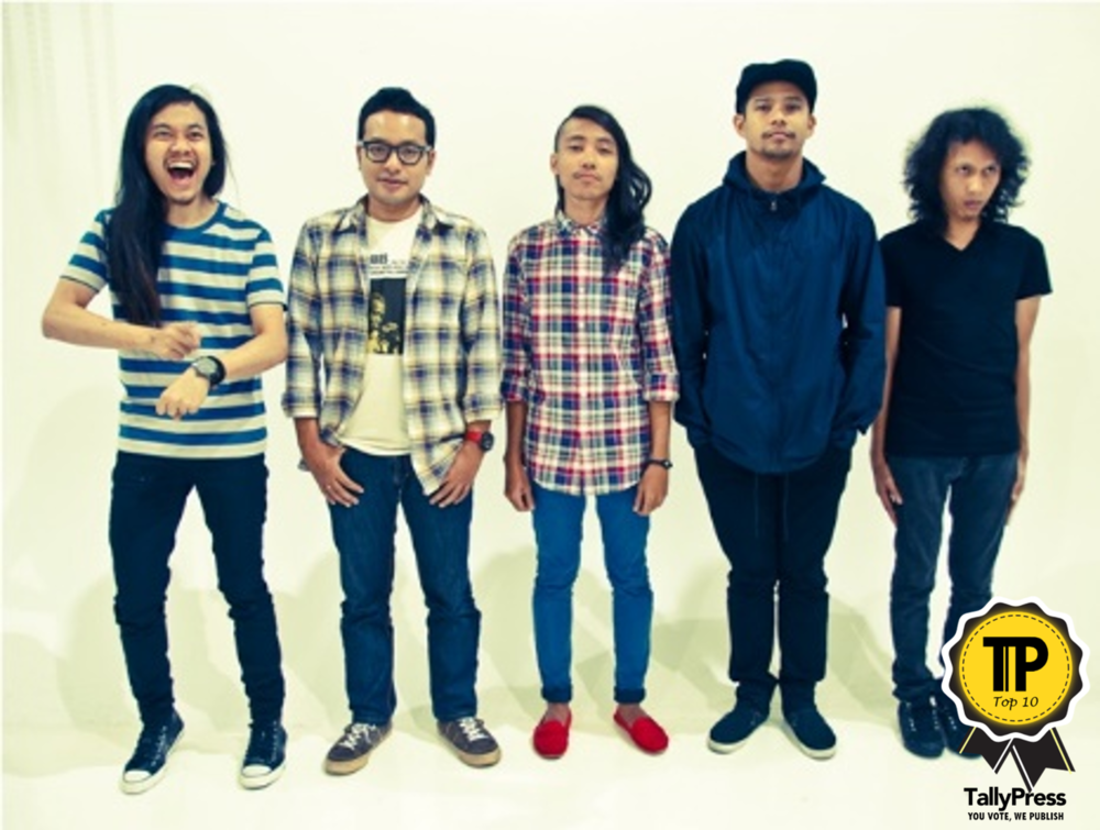 Hujan Music Band Top 10