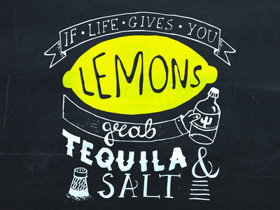 Grab Tequila and Salt