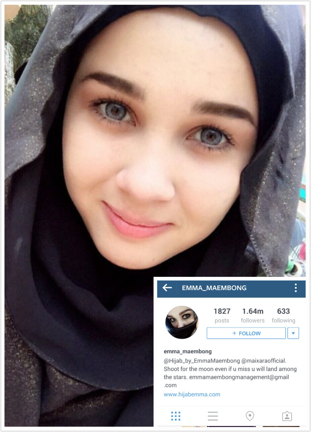 emma maembong top 100 most popular malaysians on instagram