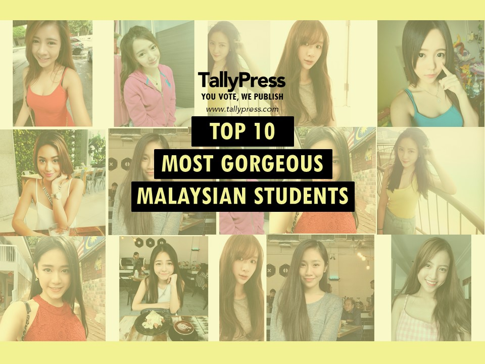 Top 10 Most Gorgeous Malaysian Students