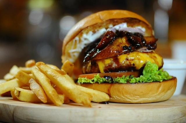 Char Siew Pork Burger by Buns & Meat