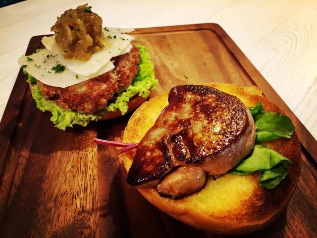 Foie Gras Pork Burger