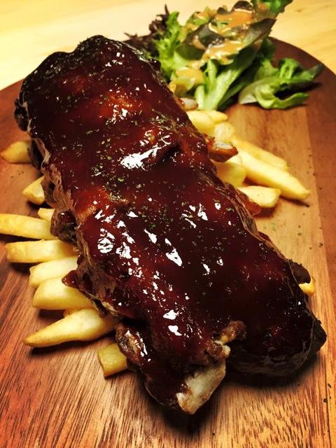 BBQ Pork Ribs by Buns & Meat