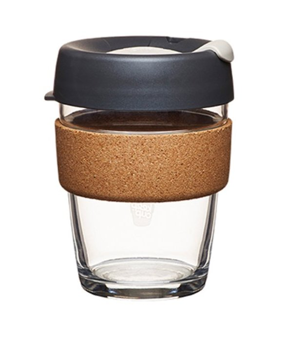 KeepCup Glass Coffee Cup - Brew Cork Series - Press (12 oz) (RM127) by KeepCup, buy here.