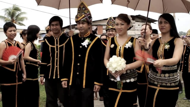Kadazan wedding