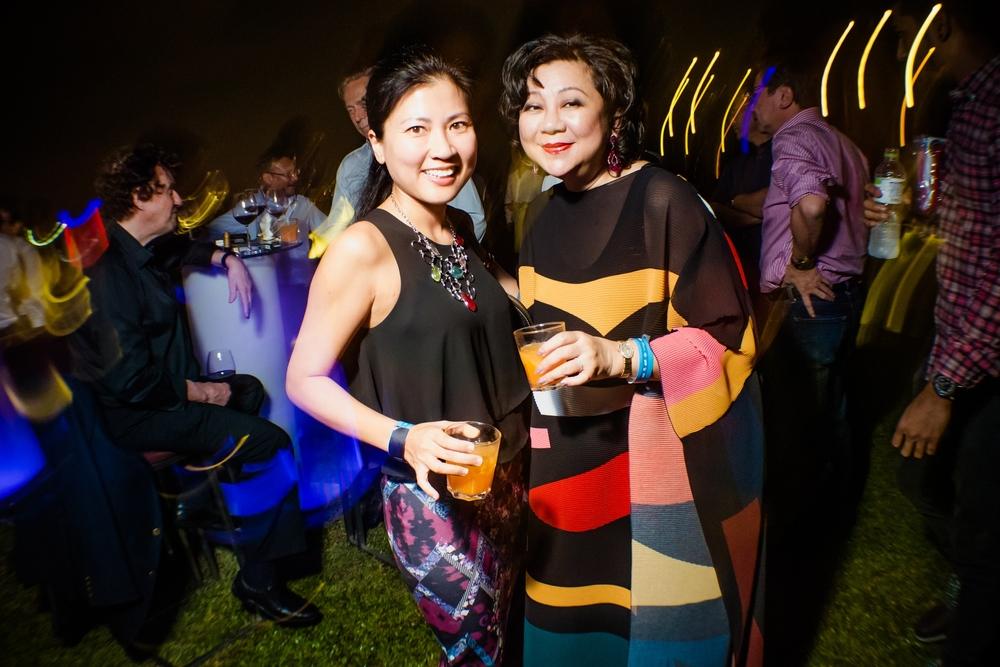(L-R) Shirley Tay (Vision Four) & YBhg Datin Su Wai Fun (AsiaReach Media)
