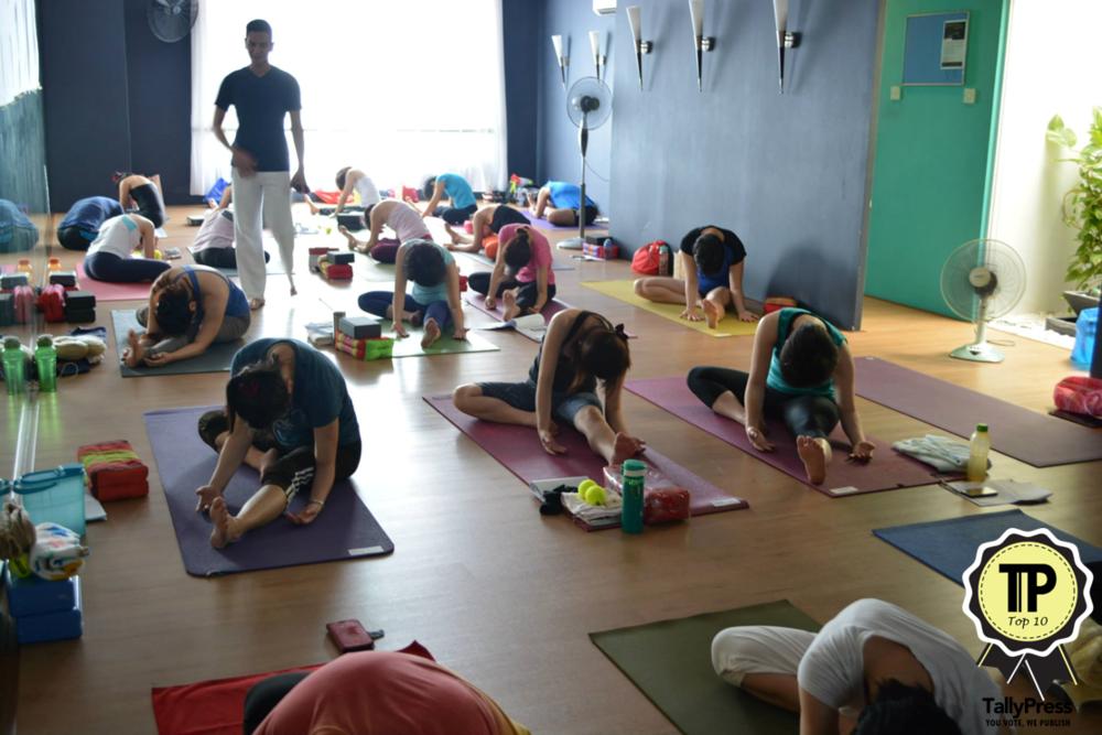 Mamaktalk Malaysia S Top 10 Yoga Studios