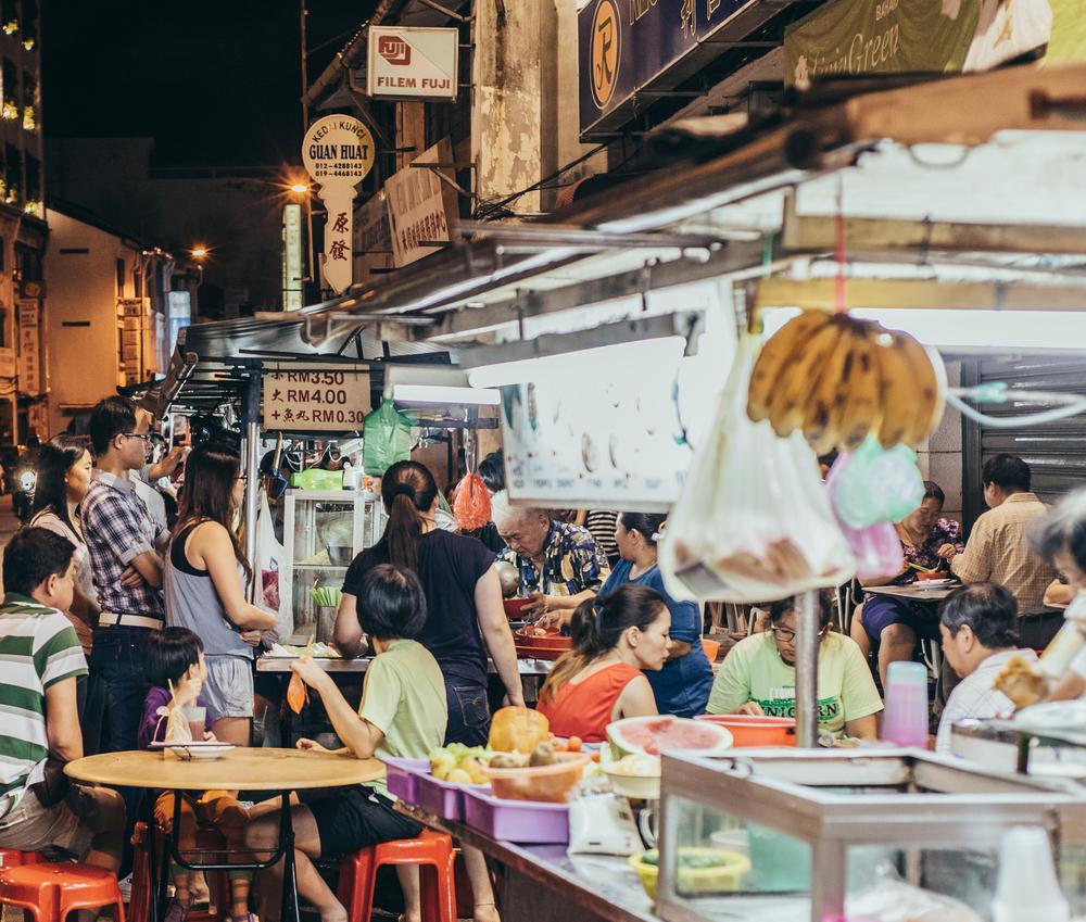 Chulia Street Night Hawkers Stall