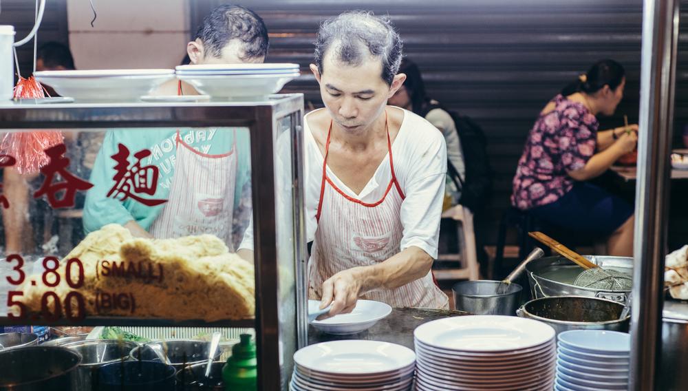 Famous Wan Tan Mee at Lebuh Chulia