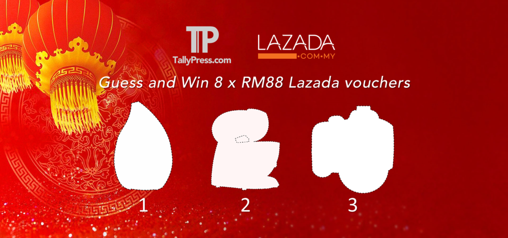 Guess & Win Lazada CNY Contest 2016