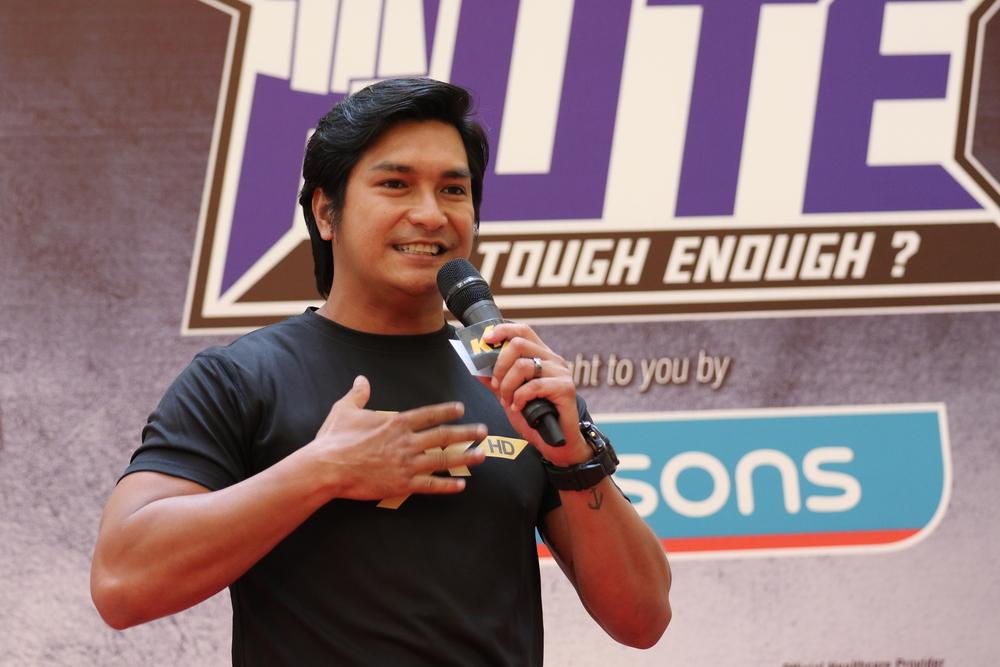 Keith Foo sharing tough experience