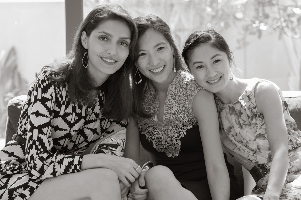 From Left to Right: Masoumeh, Geraldine & Huong Tran
