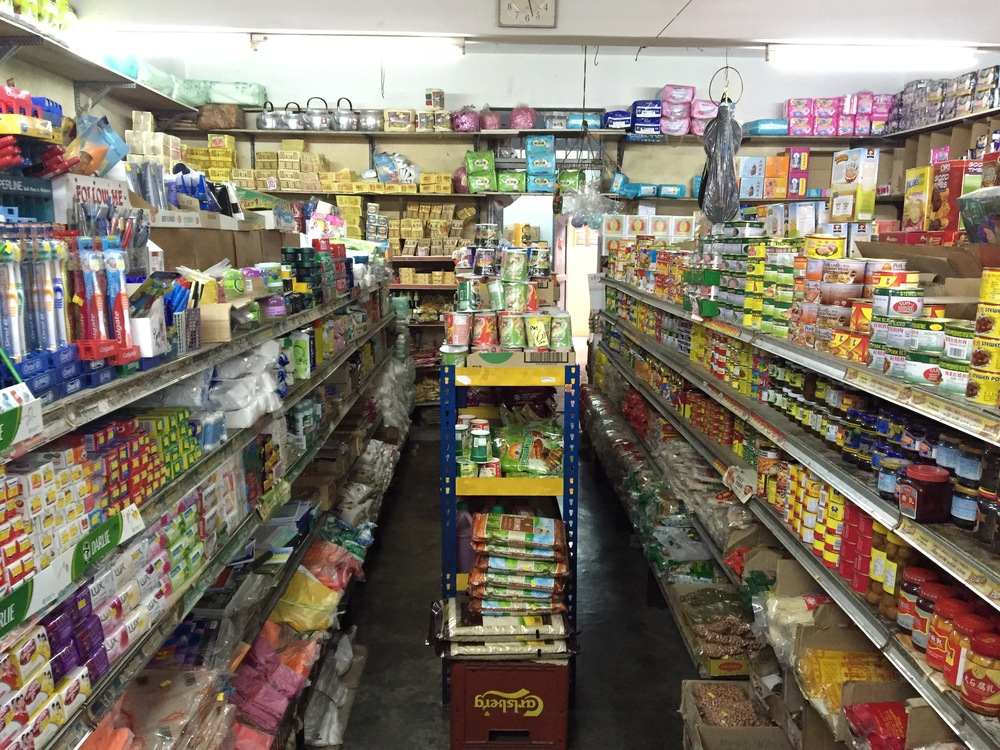 How a typical Kedai Runcit looks like within