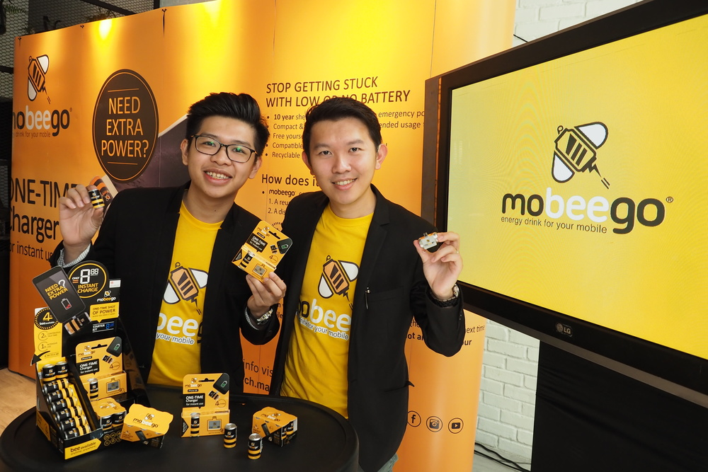 From L to R - Edric Foong, Business Development Director of MoBeeGo and Kelvin Hun, Managing Director of MoBeeGo