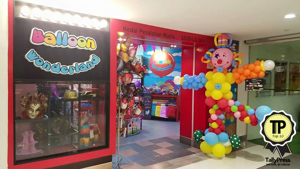 top-10-party-stores-in-malaysia-balloon-wonderland