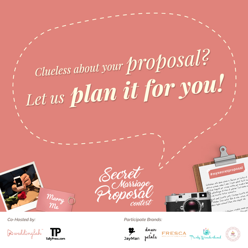 "Have you ever thought of  ""Yes, I do"" moment with your loved one? Let us help you plan your marriage proposal! All you need to do is to get the ring, sit back and enjoy your special day. Click on the picture to find out more!"