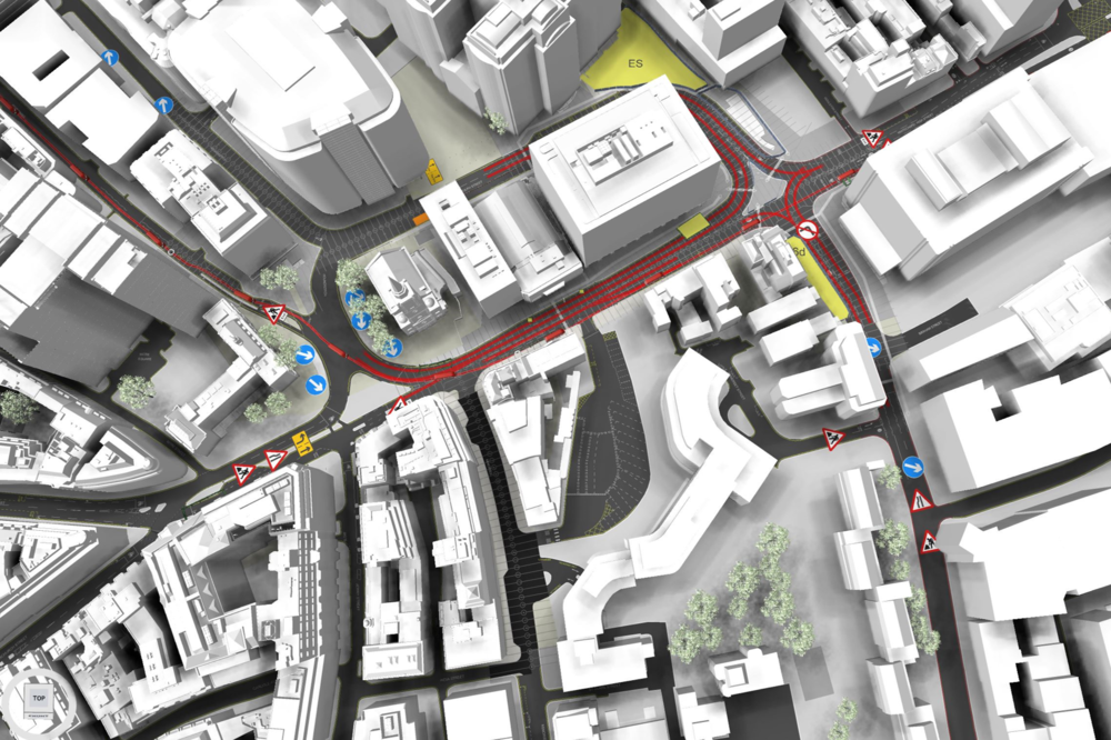 ALDGATE GYRATORY FOR CITY OF LONDON