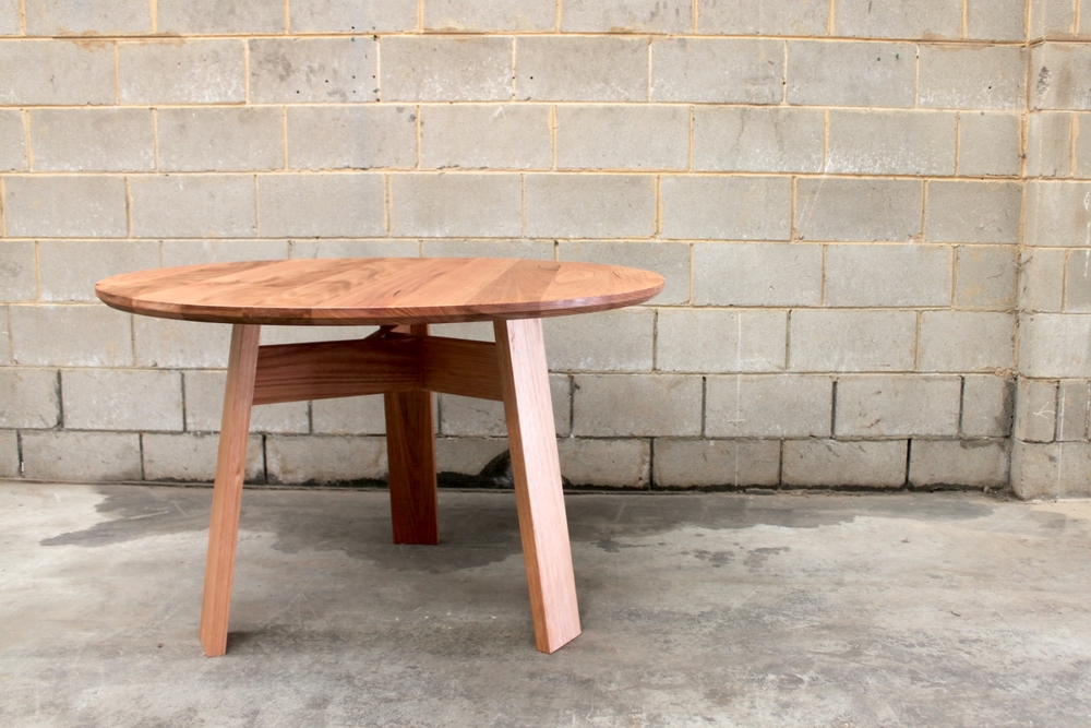 American Ash Bed Side Table