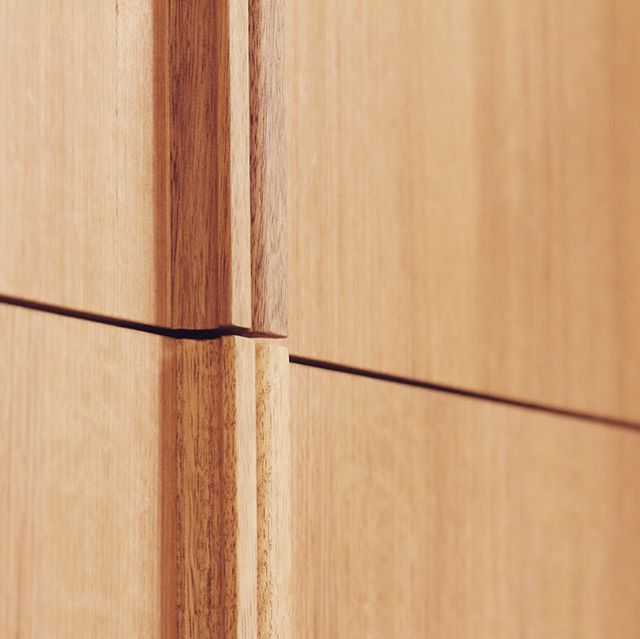 The devil is in the detail. Integrated Oak handles for your pleasure.