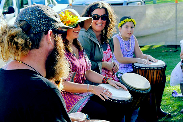 Workshops: - Learn from the masters. Maori drummers, belly dancers, flamenco guitarists and reggaeton hip hoppers are just some of the experts on hand to teach festival goers new skills.