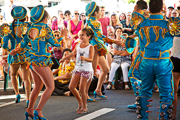 Performers - 30 acts across four stages include everything from Bollywood artists Dance Masala to Djembe masters The Off Beat, and from Cuban Salsa crew Latin HQ to European gypsy musicians Rubatuba.