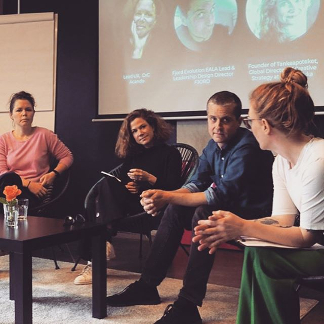 Snatched some photos from @studiotheolin from yesterday's panel discussion on The Future of Design Thinking. Thank you @hyperislanduk and @expeditionmondial for organizing!