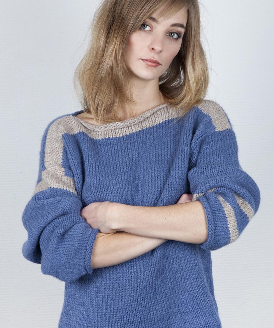 1 minute genser - oppskrift