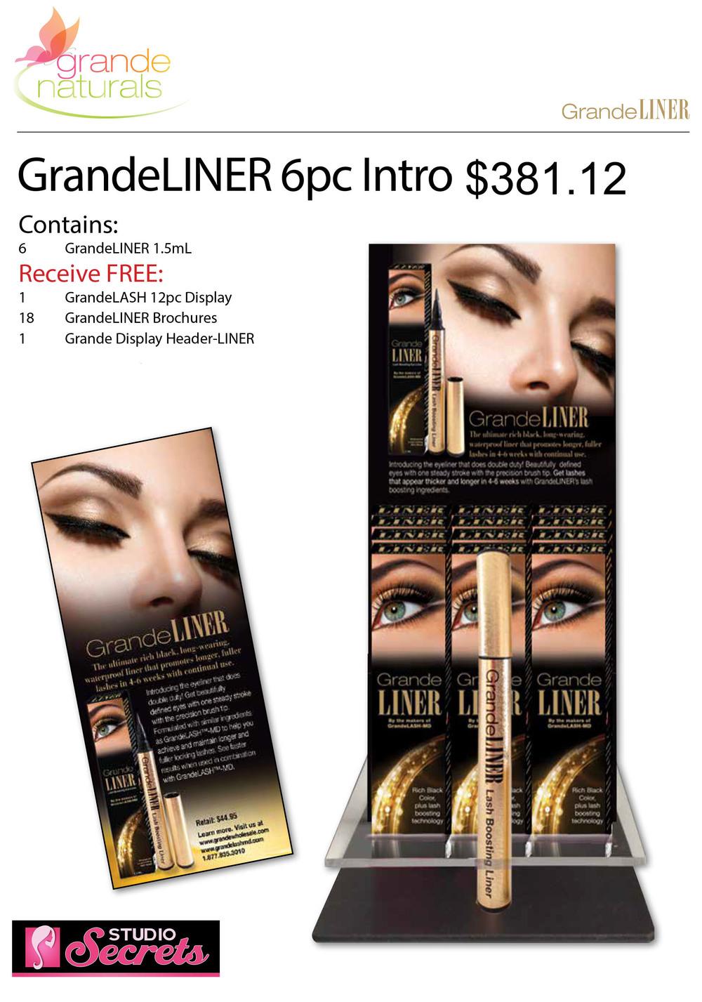 GrandeLINER 6pc Intro