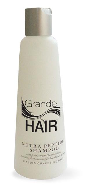 GrandeHAIR Nutra Peptide Shampoo (3 piece) RRP NZD$35.00per unit