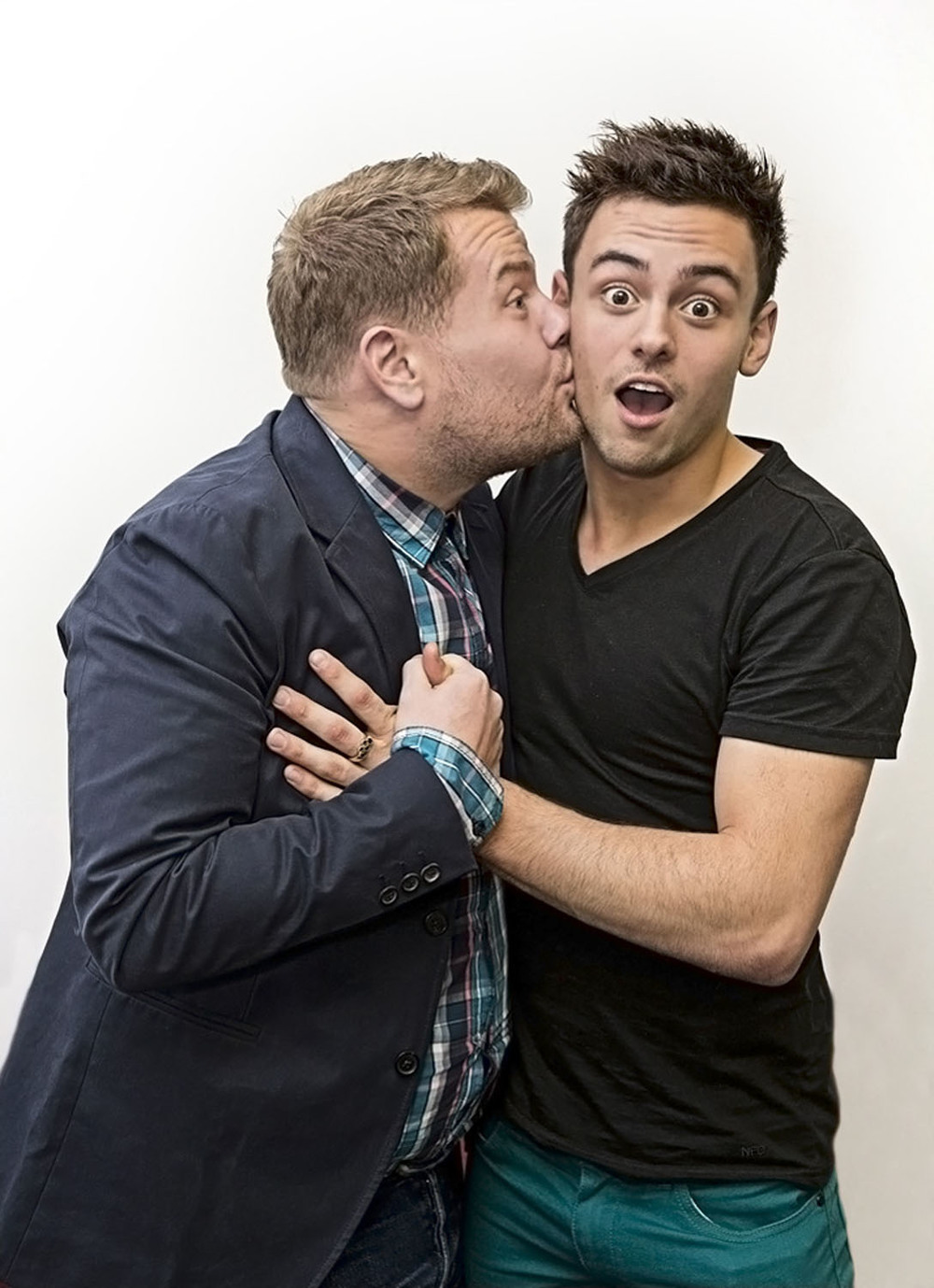 James Corden & Tom Daley