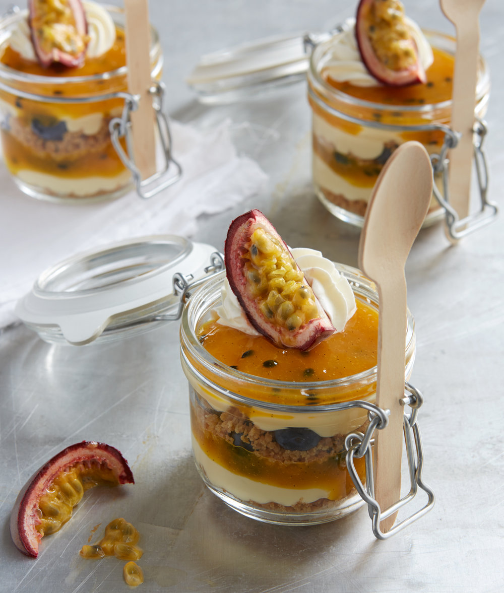 American Passionfruit Cheesecake by Beate Wöllstein