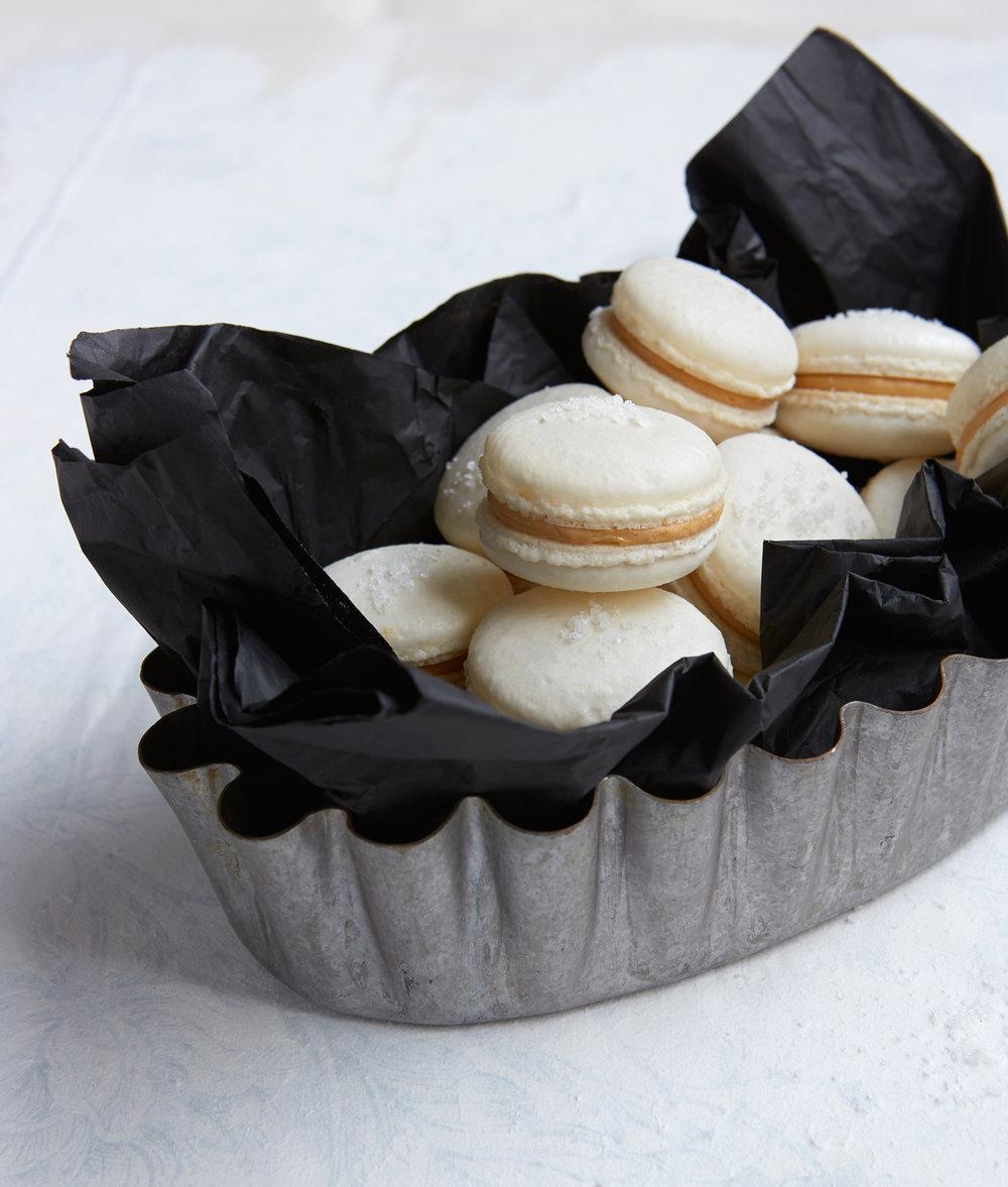"Macarons ""salted caramel"" by Beate Wöllstein"