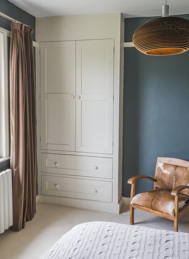 Bedroom with Bespoke Wardrobe - www.jolliffdevelopments.com