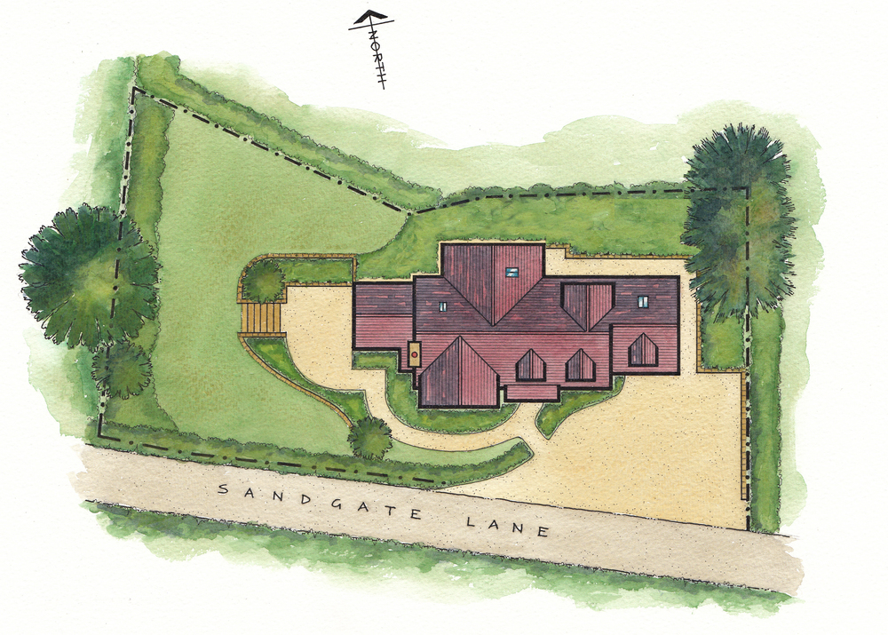 Artist's Impression of Site Plan