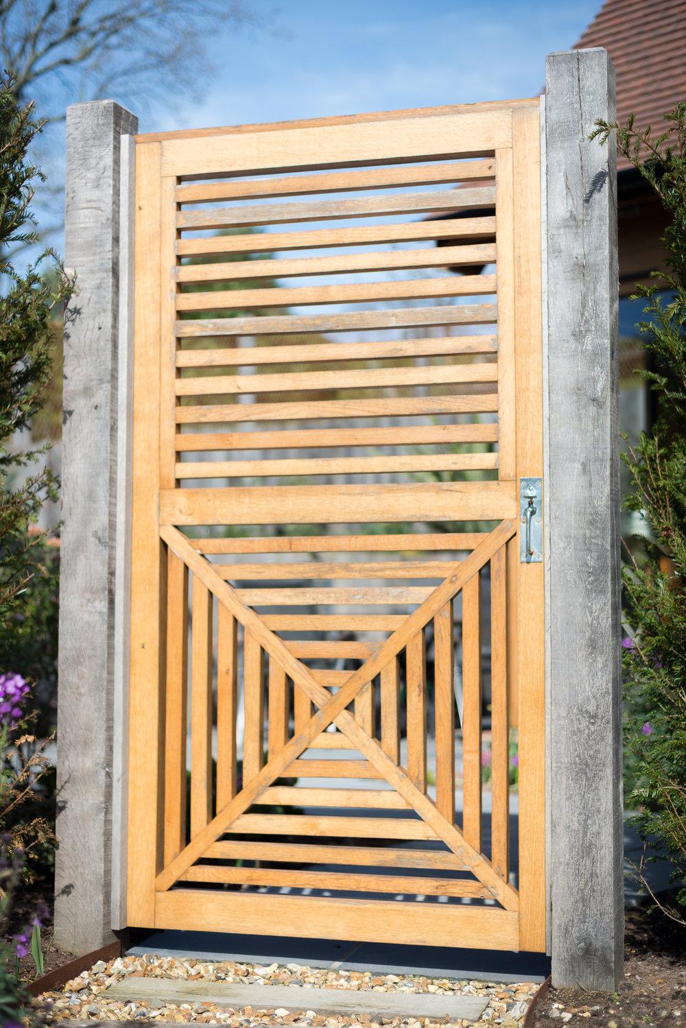 Custom Made Garden Gate