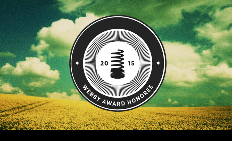Utopia2 - Official Honoree of the 2015 Webby Awards.