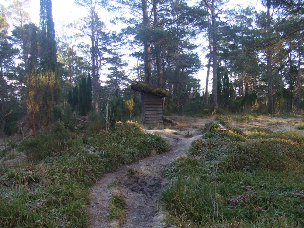 Snart kjem det ny rastehytte på topen av åsen. (Arkivfoto: Kristian Hus).