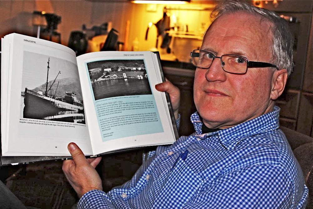 Harald Sætre si bok bør freista mange som er interesserte i HSD-historia. (Foto: Ola Matti Mathisen)