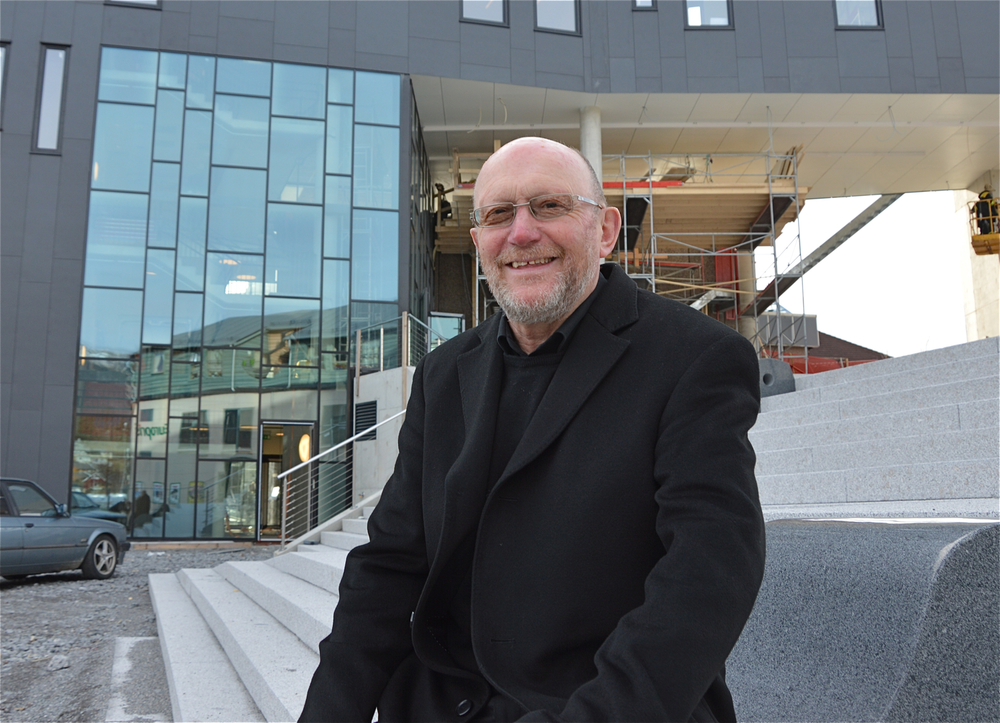 Kristian Bringedal gler seg over medlemstala. (Arkivfoto).