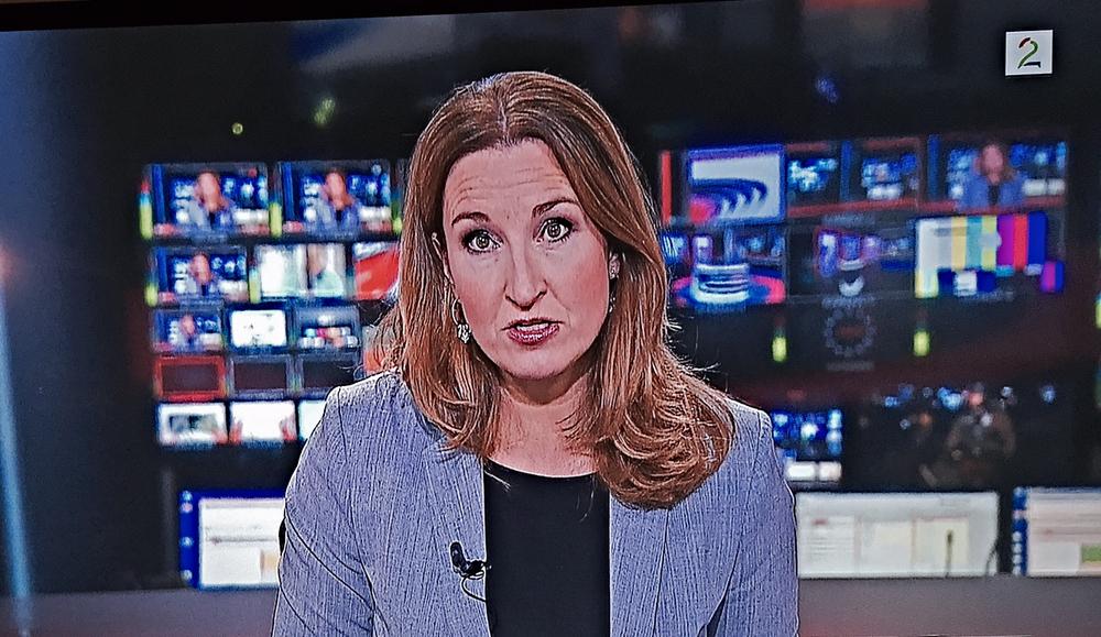 Frå TV2 si nyhendesending.