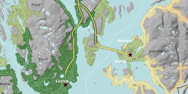 Sørleg kryssing av Langenuen vil knyta Kvinnherad og Tysnes tettare til Stord, konkluderer Norconsult i ein rapport dei har utarbeidd for Sunnhordlandssambandet AS.