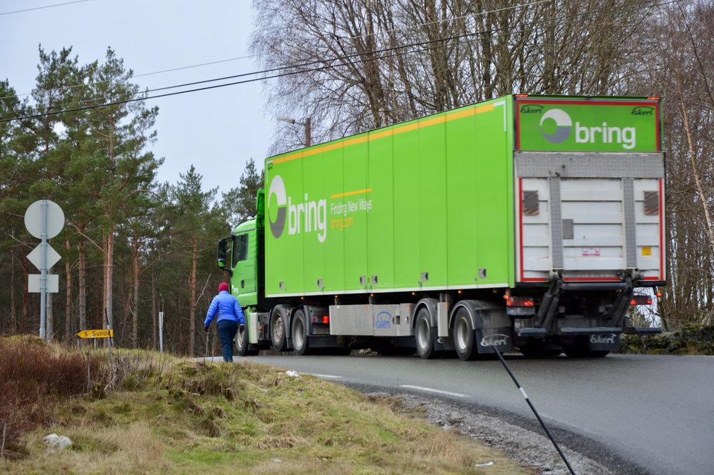 Vegen mellom gamleskulen og krysset inn til Bogsnes er det farlegaste i heile området, meiner styret i Husnes Vekst.